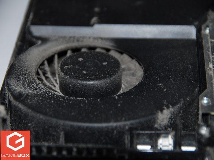 Kurz w układzie chłodzenia PS4