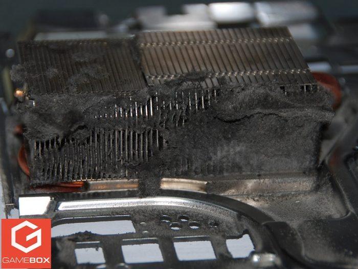 Blokada z kurzu układu chłodzenia w PS4