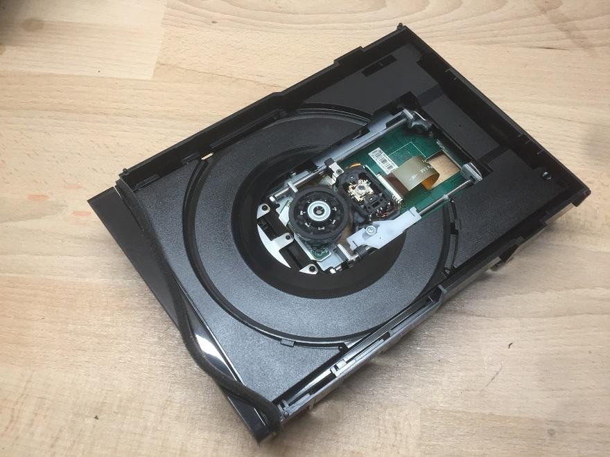 Niedziałający napęd Xbox 360