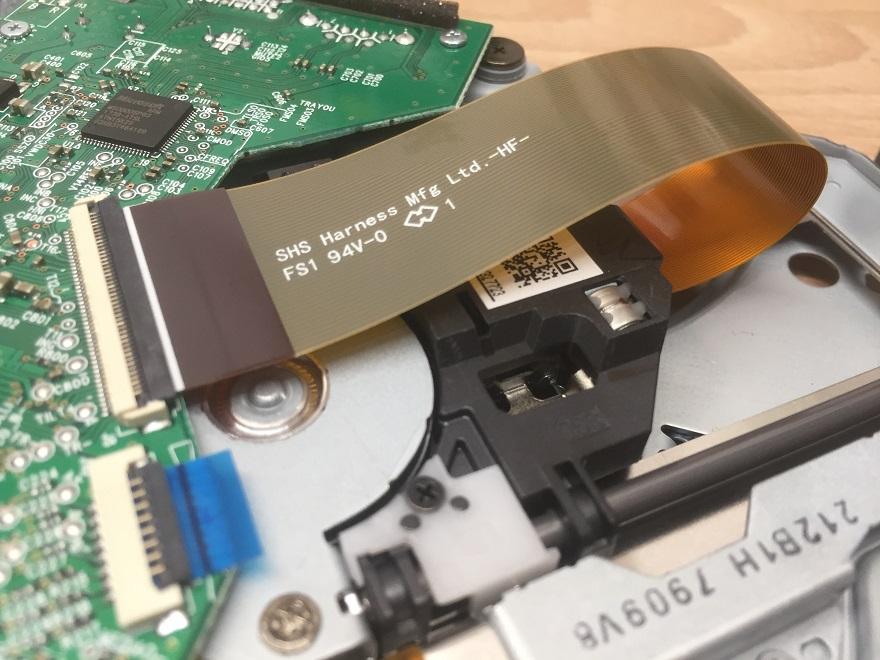 Wymiana lasera Xbox One