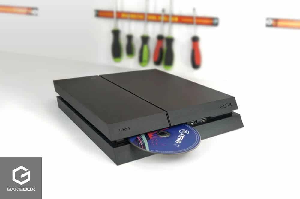 PS4 nie wciąga płyt