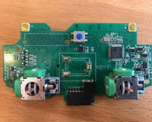 chińska płytka główna podrobionego DS4