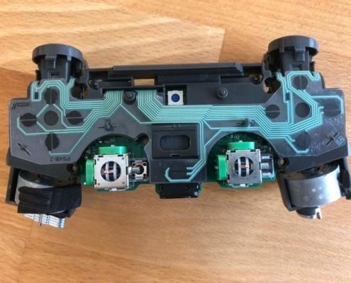 Taśma przycisków chińskiej podrobionego DS4