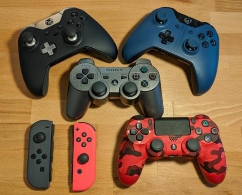 Naprawa kontrolerów do gier