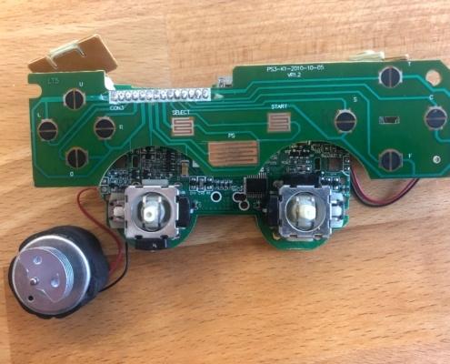 Podrobiona taśma przycisków DS3