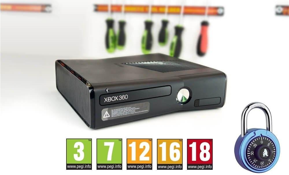 Filtr rodzinny Xbox 360